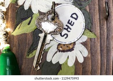 Garden Shed Key