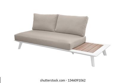 garden sofa on a white background