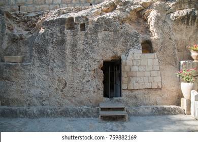 The garden tomb, Jerusalem, Israel