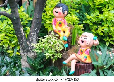 the garden of  toys