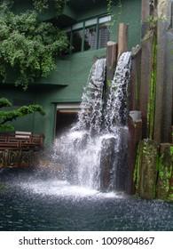 Garden Waterfall Display 2