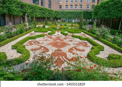 Garden Of The Willet-Holthuysen Museum At Amsterdam The Netherlands 2019