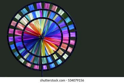 Garden wind wheel