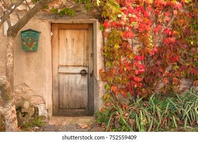 garden wood door