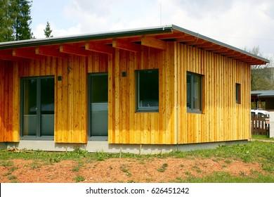 Garden wooden structure