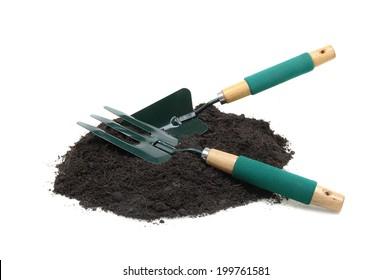 gardening tool isolated on white background