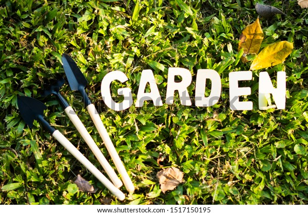 Gardening Tools Equipment Such Shovels Rakes Stock Photo Edit Now