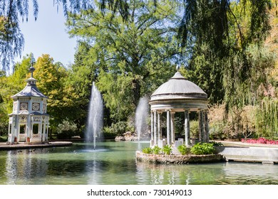 the gardens of Aranjuez, in the Spanish province of Castilla y Mancha