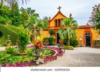 Gardens of Borromeo Palace on Isola Madre, Italy