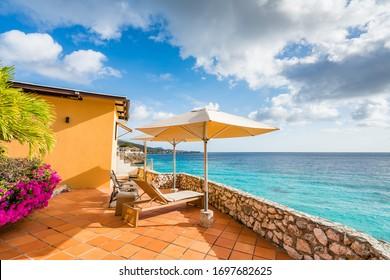 Gardens of the Caribbean on the island of Curacao