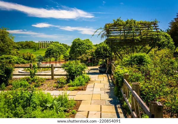Gardens National Arboretum Washington Dc Stock Photo Edit Now