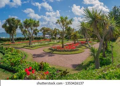 Gardens at Torquay, South Devon, UK