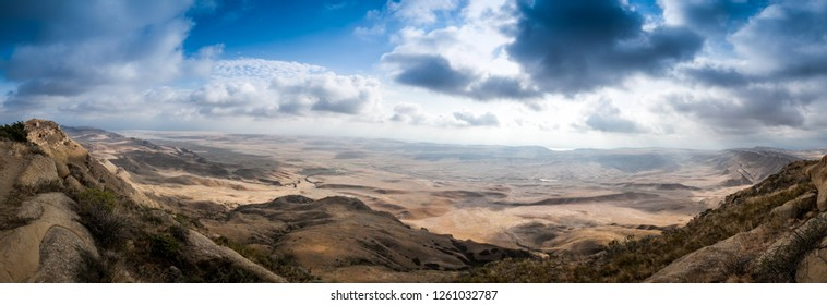 Gareji desert on the border of Georgia and Azerbaijan.