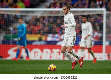 Gareth Bale of Real Madrid during the week 23 of La Liga between Atletico Madrid and Real Madrid at Wanda Metropolitano stadium on February 09 2019, in Madrid, Spain.
