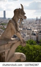 Gargoyle of Notre Dame, Paris