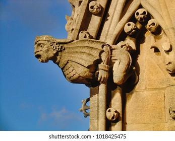 Gargoyle on a church