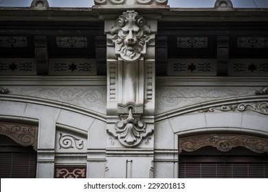 Gargoyle, Spanish city of Valencia, Mediterranean architecture - Shutterstock ID 229201813