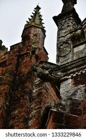 Gargoyle in Totnes