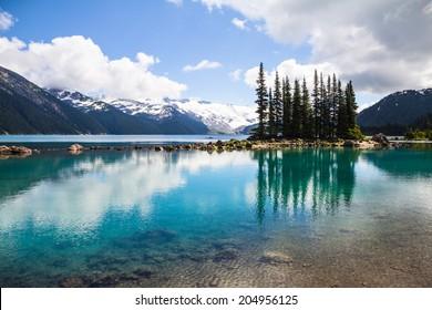 Garibaldi Lake reflections, Whistler, BC