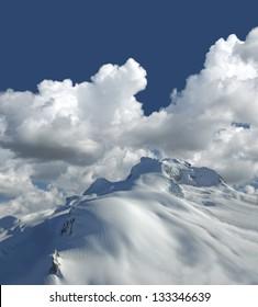 Garibaldi Mountain - Diamond Peak, Coast Mountains, BC, Canada