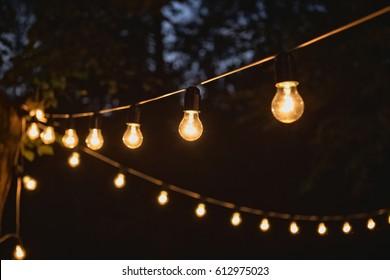 Garland Light Bulb