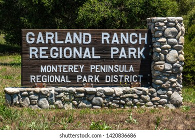 Garland Ranch Regional Park is located in Carmel Valley, California and is crossed by the Carmel River.  This dog friendly destination includes miles of hiking trails, fishing and a waterfall.