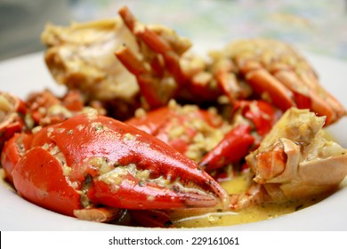 Garlic Butter Crab