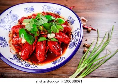 Garlic crayfish image