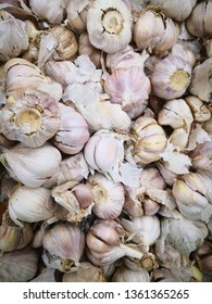 garlic in grocery
