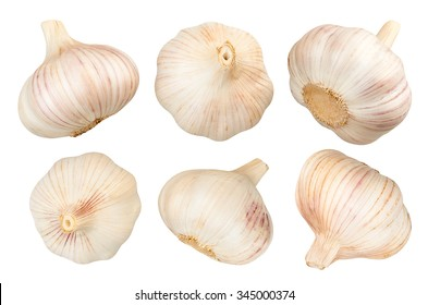 garlic isolated