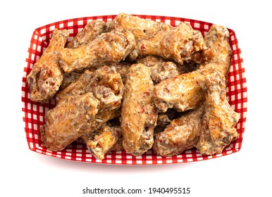 Garlic and Parmesan Traditional Chicken Wings with Bone In