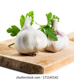 Garlic and Parsley.