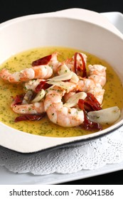 Garlic Prawns (Gambas Ajillo) Spanish food