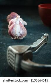garlic press and garc