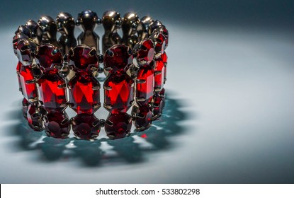 Garnet braslet accessory, beautiful, decoration