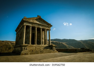 Garni temple, Autumn, Armenia