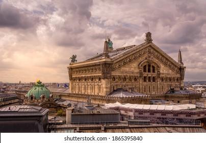 Opéra Garnier on a Cloudy Day - Shutterstock ID 1865395840