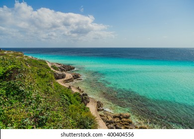 Garrafon Natural Reef Park, beautiful island of Isla Mujeres, Mexico