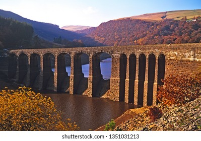 The Garreg Ddu reservoir in the Elan Valley mid Wales