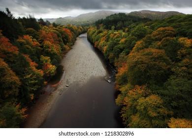 Garry river in Scotland
