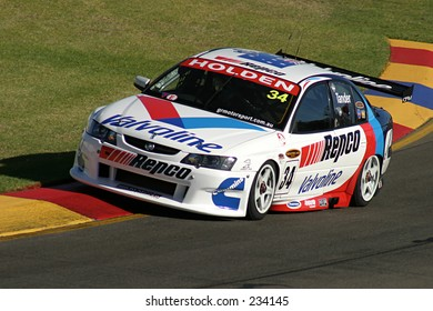 Garth Tander, at the Clipsal 500, Adelaide, 2004 -