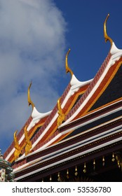 Garuda Tip Chofahs' at the Grand Palace in Bankok Thailand