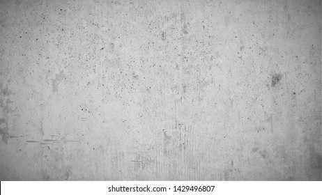 Garue concrete wall, texture with brushed textures, indiustrial design background in gray, with lighter dark edges than blackboard and highlightling.