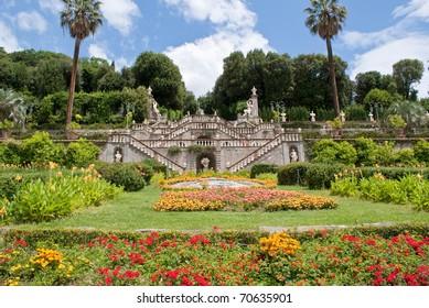 Garzoni garden in Italy