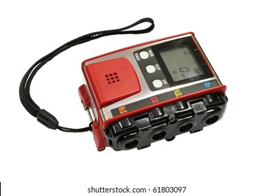 Gas analyzer, a device for measuring the concentration of explosive gases.