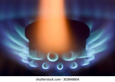 Gas background