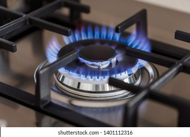 Gas burner that is on