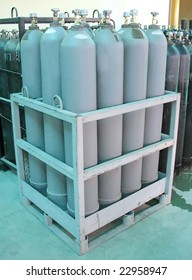 gas cylinders pallet