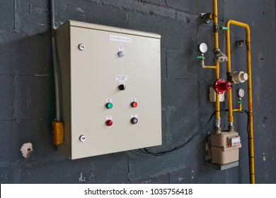 Gas detection systems, control cabinets in the building to enhance the security of people, housing and fire protection.