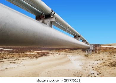 Gas distribution pipeline